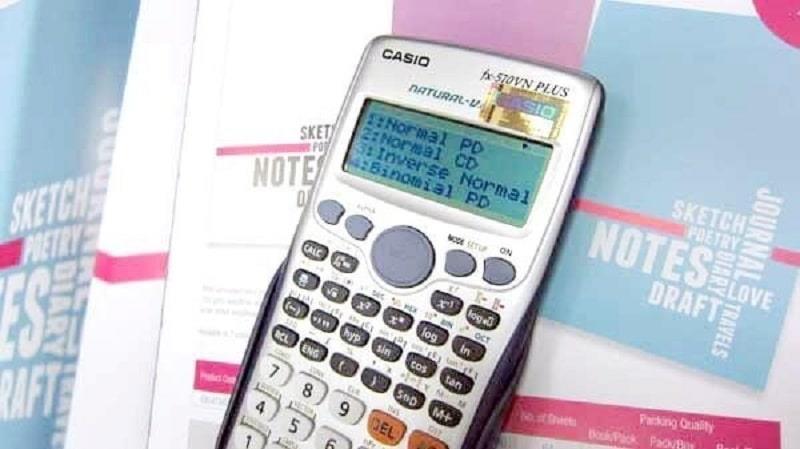 Giải phương trình bậc 3bằng cách sử dụng máy tính bỏ túi