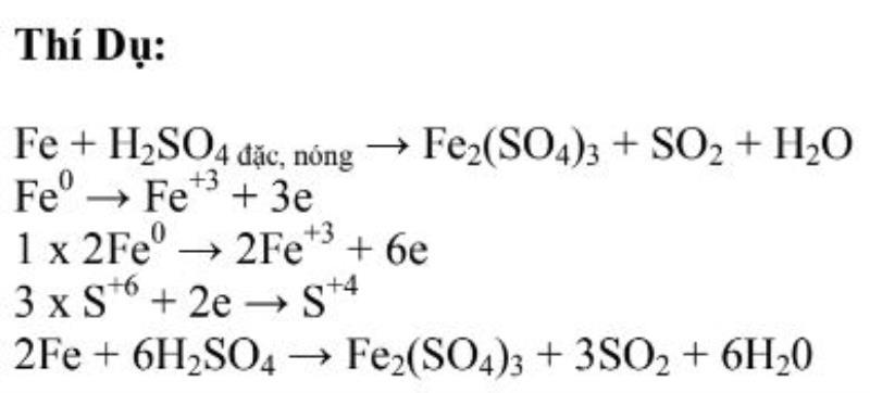 pp cân bằng electron