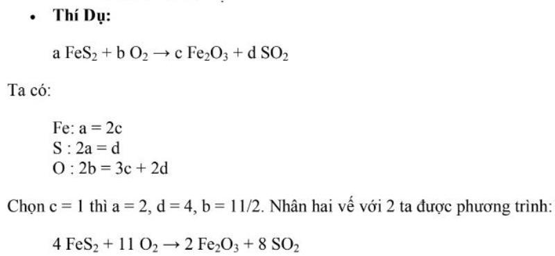 phương pháp đại số