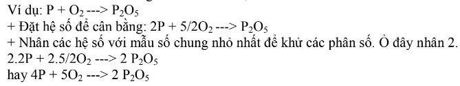 phương pháp hệ số - phân số