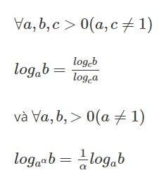 Đổi cơ số Logarit