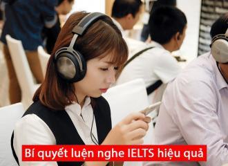 Bí quyết Luyện Nghe IELTS hiệu quả để chuẩn bị cho kỳ thi