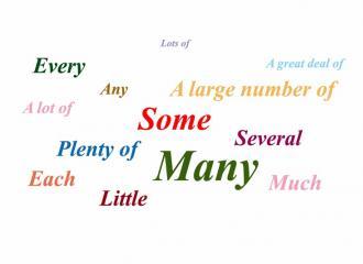Cách dùng các loại từ chỉ số lượng trong tiếng Anh