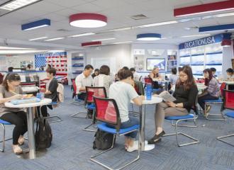 Cách học tiếng Anh hiệu quả tại trung tâm Hoa Kỳ