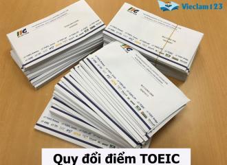 Cách quy đổi điểm TOEIC sang IELTS, TOEFL chuẩn nhất