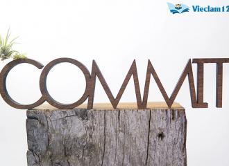 Commit là gì? Tất cả ý nghĩa của Commit trong tiếng Anh