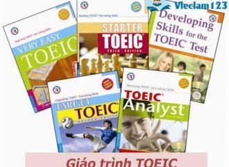 Đầy đủ những cuốn giáo trình TOEIC được quan tâm nhất hiện nay