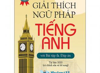 Giải thích ngữ pháp tiếng Anh dễ hiểu, không còn nỗi sợ tiếng Anh