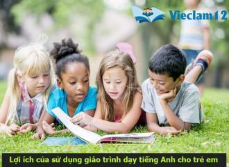 Giáo trình dạy tiếng Anh cho trẻ em phụ huynh nhất định phải biết