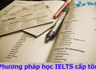 Học IELTS cấp tốc hiệu quả cho người có nền tảng tiếng Anh