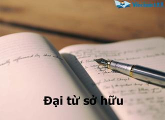 Kiến thức về đại từ sở hữu trong tiếng Anh và bài tập