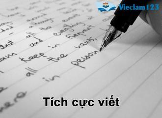 Luyện viết tiếng Anh hiệu quả: Nguyên nhân và 4 mẹo hay