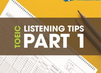 Mẹo thi part 1 TOEIC listening, trả lời 10 câu hỏi mô tả tranh
