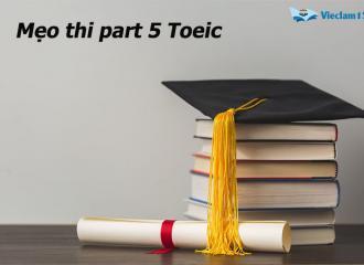 Mẹo thi part 5 Toeic, nắm vững các cấu trúc ngữ pháp thường gặp