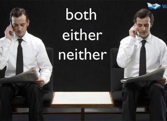 Phân biệt cách dùng Both, Either, Neither trong Tiếng Anh