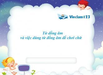 Phân biệt từ đồng âm, từ nhiều nghĩa trong tiếng Việt
