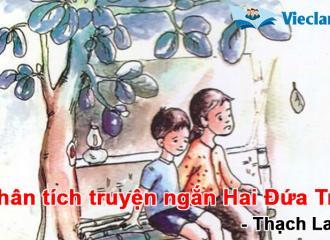 Phân tích truyện ngắn Hai Đứa Trẻ - Thach lam