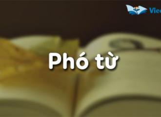 Phó từ trong tiếng Anh là gì? Vị trí, cách sử dụng phó từ tiếng Anh